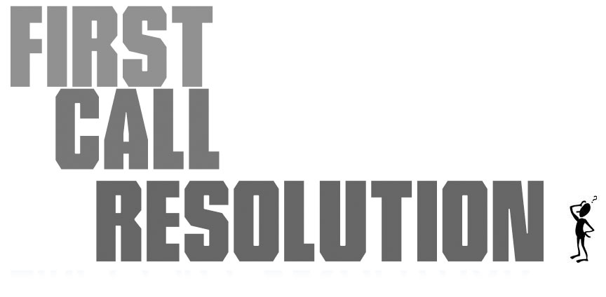 improving first call resolution  fcr