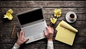 създаване на съдържание creating online content