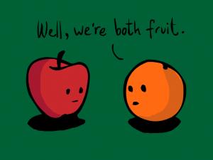 правене на сравнения comparing stuff